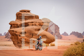 13/01/2021 - 52 Walkner Matthias (aut), KTM, Red Bull KTM Factory Team, Moto, Bike, action during the 10th stage of the Dakar 2021 between Neom and Al-Ula, in Saudi Arabia on January 13, 2021 - Photo Frédéric Le Floc'h / DPPI - 10TH STAGE OF THE DAKAR 2021 BETWEEN NEOM AND ALULA - RALLY - MOTORI