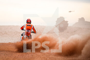 13/01/2021 - 21 Sanders Daniel (aus), KTM, KTM Factory Team, Moto, Bike, action during the 10th stage of the Dakar 2021 between Neom and Al-Ula, in Saudi Arabia on January 13, 2021 - Photo Antonin Vincent / DPPI - 10TH STAGE OF THE DAKAR 2021 BETWEEN NEOM AND ALULA - RALLY - MOTORI