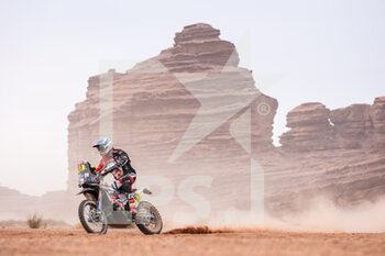 13/01/2021 - 87 Mena Oriol (esp), KTM, FN Speed - Rieju Team, Moto, Bike, action during the 10th stage of the Dakar 2021 between Neom and Al-Ula, in Saudi Arabia on January 13, 2021 - Photo Antonin Vincent / DPPI - 10TH STAGE OF THE DAKAR 2021 BETWEEN NEOM AND ALULA - RALLY - MOTORI