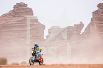 13/01/2021 - 33 Koitha Veettil Harith Noard (ind), Sherco, Sherco TVS Rally Factory, Motul, Moto, Bike, action during the 10th stage of the Dakar 2021 between Neom and Al-Ula, in Saudi Arabia on January 13, 2021 - Photo Antonin Vincent / DPPI - 10TH STAGE OF THE DAKAR 2021 BETWEEN NEOM AND ALULA - RALLY - MOTORI