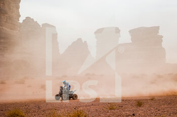 13/01/2021 - 154 Andujar Manuel (arg), Yamaha, 7240 Team, Quad, action during the 10th stage of the Dakar 2021 between Neom and Al-Ula, in Saudi Arabia on January 13, 2021 - Photo Florent Gooden / DPPI - 10TH STAGE OF THE DAKAR 2021 BETWEEN NEOM AND ALULA - RALLY - MOTORI