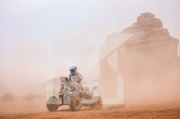 13/01/2021 - 154 Andujar Manuel (arg), Yamaha, 7240 Team, Quad, action during the 10th stage of the Dakar 2021 between Neom and Al-Ula, in Saudi Arabia on January 13, 2021 - Photo Antonin Vincent / DPPI - 10TH STAGE OF THE DAKAR 2021 BETWEEN NEOM AND ALULA - RALLY - MOTORI