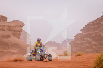 13/01/2021 - 168 Pedemonte Italo (chl), Yamaha, Enrico Racing Team, Quad, action during the 10th stage of the Dakar 2021 between Neom and Al-?Ula, in Saudi Arabia on January 13, 2021 - Photo Frédéric Le Floc'h / DPPI - 10TH STAGE OF THE DAKAR 2021 BETWEEN NEOM AND ALULA - RALLY - MOTORI