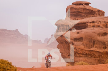 13/01/2021 - 86 Herbst Charlie (fra), KTM, Team Charlie Herbst, Motul, Moto, Bike, action during the 10th stage of the Dakar 2021 between Neom and Al-?Ula, in Saudi Arabia on January 13, 2021 - Photo Frédéric Le Floc'h / DPPI - 10TH STAGE OF THE DAKAR 2021 BETWEEN NEOM AND ALULA - RALLY - MOTORI