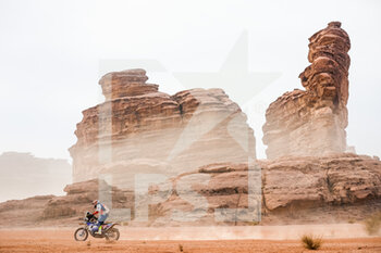 13/01/2021 - 112 Campedra Juan (esp), KTM, Juan Campedra, Original by Motul, Moto, Bike, action during the 10th stage of the Dakar 2021 between Neom and Al-Ula, in Saudi Arabia on January 13, 2021 - Photo Antonin Vincent / DPPI - 10TH STAGE OF THE DAKAR 2021 BETWEEN NEOM AND ALULA - RALLY - MOTORI