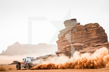 13/01/2021 - 302 Peterhansel Stéphane (fra), Boulanger Edouard (fra), Mini, X-Raid Mini JCQ Team, Auto, action during the 10th stage of the Dakar 2021 between Neom and Al-Ula, in Saudi Arabia on January 13, 2021 - Photo Antonin Vincent / DPPI - 10TH STAGE OF THE DAKAR 2021 BETWEEN NEOM AND ALULA - RALLY - MOTORI