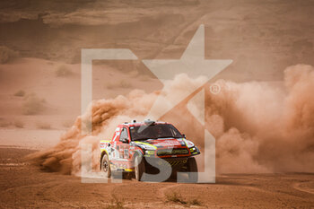 13/01/2021 - 312 Prokop Martin (cze), Chytka Viktor (cze), Ford, Orlen Benzina Team, Auto, action during the 10th stage of the Dakar 2021 between Neom and Al-Ula, in Saudi Arabia on January 13, 2021 - Photo Florent Gooden / DPPI - 10TH STAGE OF THE DAKAR 2021 BETWEEN NEOM AND ALULA - RALLY - MOTORI