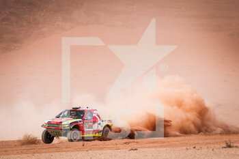 13/01/2021 - 312 Prokop Martin (cze), Chytka Viktor (cze), Ford, Orlen Benzina Team, Auto, action during the 10th stage of the Dakar 2021 between Neom and Al-Ula, in Saudi Arabia on January 13, 2021 - Photo Antonin Vincent / DPPI - 10TH STAGE OF THE DAKAR 2021 BETWEEN NEOM AND ALULA - RALLY - MOTORI