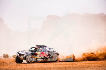 13/01/2021 - 300 Sainz Carlos (esp), Cruz Lucas (esp), Mini, X-Raid Mini JCW Team, Auto, action during the 10th stage of the Dakar 2021 between Neom and Al-Ula, in Saudi Arabia on January 13, 2021 - Photo Antonin Vincent / DPPI - 10TH STAGE OF THE DAKAR 2021 BETWEEN NEOM AND ALULA - RALLY - MOTORI