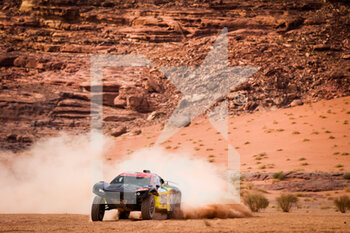13/01/2021 - 358 Gastaldi Marcelo Tiglia (bra), Roldan Lourival (bra), Century, Century Racing, Auto, action during the 10th stage of the Dakar 2021 between Neom and Al-Ula, in Saudi Arabia on January 13, 2021 - Photo Antonin Vincent / DPPI - 10TH STAGE OF THE DAKAR 2021 BETWEEN NEOM AND ALULA - RALLY - MOTORI