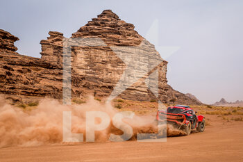 13/01/2021 - 326 Lavielle Christian (fra), Garcin Jean-Pierre (fra), Optimus, MD Rally Sport, Motul, Auto, action during the 10th stage of the Dakar 2021 between Neom and Al-Ula, in Saudi Arabia on January 13, 2021 - Photo Florent Gooden / DPPI - 10TH STAGE OF THE DAKAR 2021 BETWEEN NEOM AND ALULA - RALLY - MOTORI