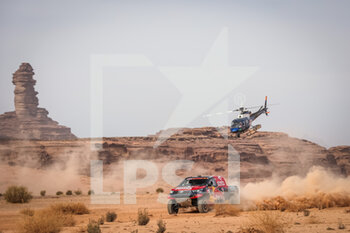 13/01/2021 - 307 Przygonski Jakub (pol), Gottschalk Timo (deu), Toyota, Overdrive Toyota, Auto, action during the 10th stage of the Dakar 2021 between Neom and Al-Ula, in Saudi Arabia on January 13, 2021 - Photo Antonin Vincent / DPPI - 10TH STAGE OF THE DAKAR 2021 BETWEEN NEOM AND ALULA - RALLY - MOTORI