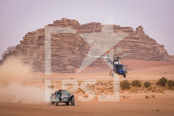 13/01/2021 - 319 Pélichet Jérôme (fra), Larroque Pascal (fra), Optimus, Raidlynx, Motul, Auto, action during the 10th stage of the Dakar 2021 between Neom and Al-Ula, in Saudi Arabia on January 13, 2021 - Photo Antonin Vincent / DPPI - 10TH STAGE OF THE DAKAR 2021 BETWEEN NEOM AND ALULA - RALLY - MOTORI