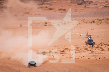 13/01/2021 - 319 Pélichet Jérôme (fra), Larroque Pascal (fra), Optimus, Raidlynx, Motul, Auto, action during the 10th stage of the Dakar 2021 between Neom and Al-?Ula, in Saudi Arabia on January 13, 2021 - Photo Frédéric Le Floc'h / DPPI - 10TH STAGE OF THE DAKAR 2021 BETWEEN NEOM AND ALULA - RALLY - MOTORI