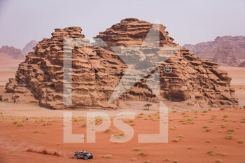 13/01/2021 - 308 Serradori Mathieu (fra), Lurquin Fabian (bel), Century, SRT Racing, Motul, Auto, action during the 10th stage of the Dakar 2021 between Neom and Al-Ula, in Saudi Arabia on January 13, 2021 - Photo Antonin Vincent / DPPI - 10TH STAGE OF THE DAKAR 2021 BETWEEN NEOM AND ALULA - RALLY - MOTORI