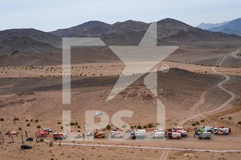 13/01/2021 - Ambiance, DSS during the 10th stage of the Dakar 2021 between Neom and Al-Ê¿Ula, in Saudi Arabia on January 13, 2021 - Photo Eric Vargiolu / DPPI - 10TH STAGE OF THE DAKAR 2021 BETWEEN NEOM AND ALULA - RALLY - MOTORI