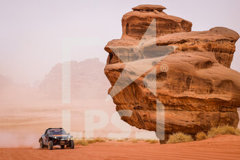 13/01/2021 - 384 Bergounhe Jean-Rémy (fra), Brucy Jean (fra), PH Sport, PH Sport, Light Weight Vehicles Prototype - T3, action during the 10th stage of the Dakar 2021 between Neom and Al-?Ula, in Saudi Arabia on January 13, 2021 - Photo Frédéric Le Floc'h / DPPI - 10TH STAGE OF THE DAKAR 2021 BETWEEN NEOM AND ALULA - RALLY - MOTORI