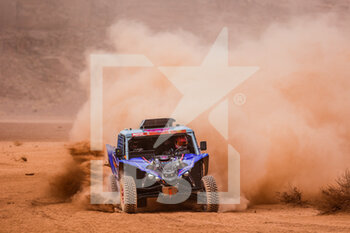 13/01/2021 - 391 Liparoti Camelia (ita), Fischer Annett (deu), Yamaha, X-Raid Yamha Racing Rally Supported Team, Light Weight Vehicles Prototype - T3, action during the 10th stage of the Dakar 2021 between Neom and Al-Ula, in Saudi Arabia on January 13, 2021 - Photo Florent Gooden / DPPI - 10TH STAGE OF THE DAKAR 2021 BETWEEN NEOM AND ALULA - RALLY - MOTORI