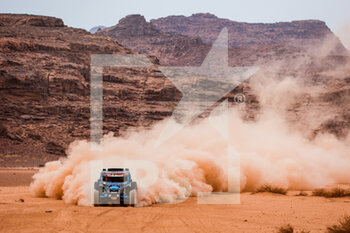13/01/2021 - 439 Margaillan Matthieu (fra), Roux-Decima Axelle (fra), Can-Am, Margaillan, SSV Series - T4, action during the 10th stage of the Dakar 2021 between Neom and Al-Ula, in Saudi Arabia on January 13, 2021 - Photo Florent Gooden / DPPI - 10TH STAGE OF THE DAKAR 2021 BETWEEN NEOM AND ALULA - RALLY - MOTORI