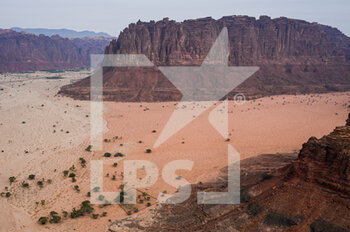13/01/2021 - Illustration, landscape during the 10th stage of the Dakar 2021 between Neom and Al-Ê¿Ula, in Saudi Arabia on January 13, 2021 - Photo Eric Vargiolu / DPPI - 10TH STAGE OF THE DAKAR 2021 BETWEEN NEOM AND ALULA - RALLY - MOTORI