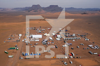 13/01/2021 - Illustration, landscape, bivouac during the 10th stage of the Dakar 2021 between Neom and Al-Ê¿Ula, in Saudi Arabia on January 13, 2021 - Photo Eric Vargiolu / DPPI - 10TH STAGE OF THE DAKAR 2021 BETWEEN NEOM AND ALULA - RALLY - MOTORI
