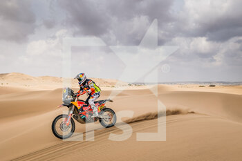 13/01/2021 - 52 Walkner Matthias (aut), KTM, Red Bull KTM Factory Team, Moto, Bike, action during the 11th stage of the Dakar 2021 between Al-'Ula and Yanbu, in Saudi Arabia on January 14, 2021 - Photo Frédéric Le Floc'h / DPPI - 10TH STAGE OF THE DAKAR 2021 BETWEEN NEOM AND ALULA - RALLY - MOTORI
