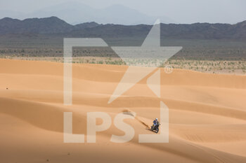 13/01/2021 - 42 Van Beveren Adrien (fra), Yamaha, Monster Energy Yamaha Rally Team, Moto, Bike, action during the 11th stage of the Dakar 2021 between Al-'Ula and Yanbu, in Saudi Arabia on January 14, 2021 - Photo Florent Gooden / DPPI - 10TH STAGE OF THE DAKAR 2021 BETWEEN NEOM AND ALULA - RALLY - MOTORI