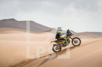 13/01/2021 - 11 Svitko Stefan (svk), KTM, Slovnaft Rally Team, Moto, Bike, action during the 11th stage of the Dakar 2021 between Al-'Ula and Yanbu, in Saudi Arabia on January 14, 2021 - Photo Antonin Vincent / DPPI - 10TH STAGE OF THE DAKAR 2021 BETWEEN NEOM AND ALULA - RALLY - MOTORI