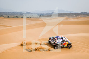 13/01/2021 - 302 Peterhansel Stéphane (fra), Boulanger Edouard (fra), Mini, X-Raid Mini JCQ Team, Auto, action during the 11th stage of the Dakar 2021 between Al-Ula and Yanbu, in Saudi Arabia on January 14, 2021 - Photo Florent Gooden / DPPI - 10TH STAGE OF THE DAKAR 2021 BETWEEN NEOM AND ALULA - RALLY - MOTORI