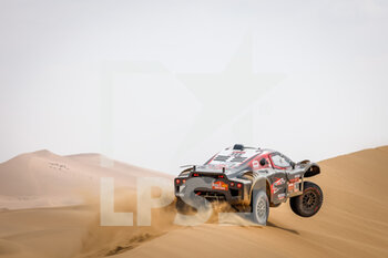 13/01/2021 - 308 Serradori Mathieu (fra), Lurquin Fabian (bel), Century, SRT Racing, Motul, Auto, action during the 11th stage of the Dakar 2021 between Al-'Ula and Yanbu, in Saudi Arabia on January 14, 2021 - Photo Frédéric Le Floc'h / DPPI - 10TH STAGE OF THE DAKAR 2021 BETWEEN NEOM AND ALULA - RALLY - MOTORI