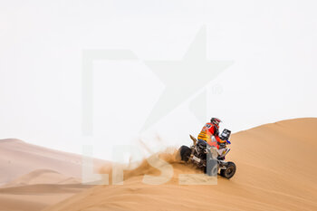 13/01/2021 - 163 Copetti Pablo (usa), Yamaha, MX Devesa By Berta, Motul, Quad, action during the 11th stage of the Dakar 2021 between Al-'Ula and Yanbu, in Saudi Arabia on January 14, 2021 - Photo Frédéric Le Floc'h / DPPI - 10TH STAGE OF THE DAKAR 2021 BETWEEN NEOM AND ALULA - RALLY - MOTORI