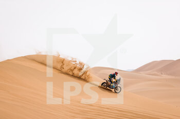 13/01/2021 - 46 Marcic Simon (svn), Husqvarna, Marcic, Original by Motul, Moto, Bike, action during the 11th stage of the Dakar 2021 between Al-'Ula and Yanbu, in Saudi Arabia on January 14, 2021 - Photo Frédéric Le Floc'h / DPPI - 10TH STAGE OF THE DAKAR 2021 BETWEEN NEOM AND ALULA - RALLY - MOTORI