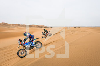 13/01/2021 - 41 Yakp Zaker (chn), KTM, Wu Pu Da Hai Dao Dakar Rally Team, Moto action during the 11th stage of the Dakar 2021 between Al-Ula and Yanbu, in Saudi Arabia on January 14, 2021 - Photo Antonin Vincent / DPPI - 10TH STAGE OF THE DAKAR 2021 BETWEEN NEOM AND ALULA - RALLY - MOTORI