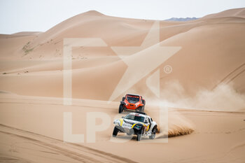 13/01/2021 - 349 Plaza Perez Manuel (esp), Plaza Monica (esp), Chevrolet, Sodicars Racing, Auto, action during the 11th stage of the Dakar 2021 between Al-Ula and Yanbu, in Saudi Arabia on January 14, 2021 - Photo Antonin Vincent / DPPI - 10TH STAGE OF THE DAKAR 2021 BETWEEN NEOM AND ALULA - RALLY - MOTORI