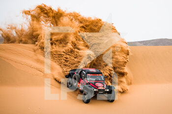 13/01/2021 - 342 Petrus Gintas (ltu), Marques Jose (prt), Optimus, Petrus Kombucha Team, Auto, action during the 11th stage of the Dakar 2021 between Al-Ula and Yanbu, in Saudi Arabia on January 14, 2021 - Photo Antonin Vincent / DPPI - 10TH STAGE OF THE DAKAR 2021 BETWEEN NEOM AND ALULA - RALLY - MOTORI