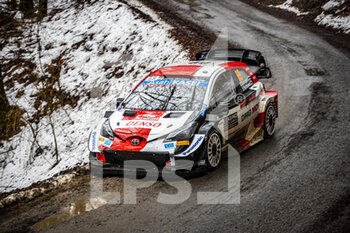 2021 WRC World Rally Car Championship, Monte Carlo - Thursday  - RALLY - MOTORI