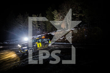 22/01/2021 - 00 Florian BERNARDI (FRA), Victor BELLOTTO (FRA), Renault Clio Rally 4, action during the 2021 WRC World Rally Car Championship, Monte Carlo rally on January 20 to 24, 2021 at Monaco - Photo Bastien Roux / DPPI - 2021 WRC WORLD RALLY CAR CHAMPIONSHIP, MONTE CARLO - FRIDAY - RALLY - MOTORI