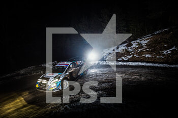 22/01/2021 - 44 Gus GREENSMITH (GBR), Elliott EDMONDSON (GBR), M-SPORT FORD WORLD RALLY TEAM, FORD Fiesta WRC, action during the 2021 WRC World Rally Car Championship, Monte Carlo rally on January 20 to 24, 2021 at Monaco - Photo Bastien Roux / DPPI - 2021 WRC WORLD RALLY CAR CHAMPIONSHIP, MONTE CARLO - FRIDAY - RALLY - MOTORI