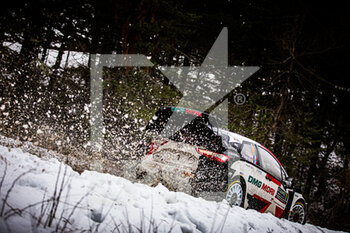 22/01/2021 - 01 Sebastien OGIER (FRA), Julien INGRASSIA (FRA), TOYOTA GAZOO RACING WRT, TOYOTA Yaris WRC, action during the 2021 WRC World Rally Car Championship, Monte Carlo rally on January 20 to 24, 2021 at Monaco - Photo Bastien Roux / DPPI - 2021 WRC WORLD RALLY CAR CHAMPIONSHIP, MONTE CARLO - FRIDAY - RALLY - MOTORI
