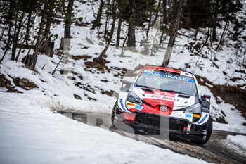 22/01/2021 - 33 Elfyn EVANS (GBR), Scott MARTIN (GBR), TOYOTA GAZOO RACING WRT TOYOTA Yaris WRC ,action during the 2021 WRC World Rally Car Championship, Monte Carlo rally on January 20 to 24, 2021 at Monaco - Photo Bastien Roux / DPPI - 2021 WRC WORLD RALLY CAR CHAMPIONSHIP, MONTE CARLO - FRIDAY - RALLY - MOTORI