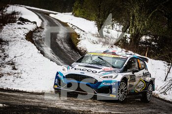 2021 WRC World Rally Car Championship, Monte Carlo - Friday - RALLY - MOTORI