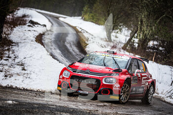 22/01/2021 - 24 Eric CAMILLI (FRA), Francois-Xavier BURESI (FRA), SPORTS & YOU CITROEN C3, RC2 Rally2, action during the 2021 WRC World Rally Car Championship, Monte Carlo rally on January 20 to 24, 2021 at Monaco - Photo Bastien Roux / DPPI - 2021 WRC WORLD RALLY CAR CHAMPIONSHIP, MONTE CARLO - FRIDAY - RALLY - MOTORI
