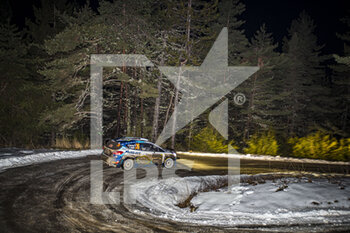 22/01/2021 - 20 Adrien FOURMAUX (FRA), Renaud JAMOUL (BEL), M-SPORT FORD WORLD RALLY TEAM, FORD Fiesta Mk II, Rally2, action during the 2021 WRC World Rally Car Championship, Monte Carlo rally on January 20 to 24, 2021 at Monaco - Photo Grégory Lenormand / DPPI - 2021 WRC WORLD RALLY CAR CHAMPIONSHIP, MONTE CARLO - FRIDAY - RALLY - MOTORI