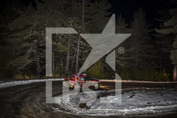 22/01/2021 - 24 Eric CAMILLI (FRA), Francois-Xavier BURESI (FRA), SPORTS & YOU CITROEN C3, RC2 Rally2, action during the 2021 WRC World Rally Car Championship, Monte Carlo rally on January 20 to 24, 2021 at Monaco - Photo Grégory Lenormand / DPPI - 2021 WRC WORLD RALLY CAR CHAMPIONSHIP, MONTE CARLO - FRIDAY - RALLY - MOTORI