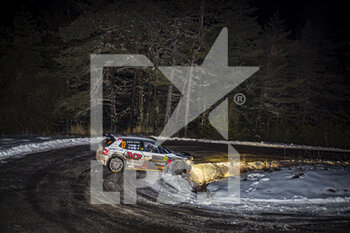 22/01/2021 - 27 during the 2021 WRC World Rally Car Championship, Monte Carlo rally on January 20 to 24, 2021 at Monaco - Photo Grégory Lenormand / DPPI - 2021 WRC WORLD RALLY CAR CHAMPIONSHIP, MONTE CARLO - FRIDAY - RALLY - MOTORI