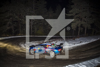 22/01/2021 - 43 Emmanuel GUIGOU (FRA), Alexandre CORIA (FRA), ALPINE A110, RGT RGT cars, action during the 2021 WRC World Rally Car Championship, Monte Carlo rally on January 20 to 24, 2021 at Monaco - Photo Grégory Lenormand / DPPI - 2021 WRC WORLD RALLY CAR CHAMPIONSHIP, MONTE CARLO - FRIDAY - RALLY - MOTORI