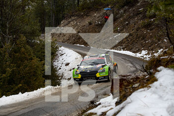22/01/2021 - 32 Cedric DE CECCO, Jerome HUMBLET (BEL), CEDRIC DE CECCO (BEL), SKODAFabia Evo, RC2 Rally2, action during the 2021 WRC World Rally Car Championship, Monte Carlo rally on January 20 to 24, 2021 at Monaco - Photo Grégory Lenormand / DPPI - 2021 WRC WORLD RALLY CAR CHAMPIONSHIP, MONTE CARLO - FRIDAY - RALLY - MOTORI