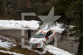 22/01/2021 - CRASH during the 2021 WRC World Rally Car Championship, Monte Carlo rally on January 20 to 24, 2021 at Monaco - Photo Grégory Lenormand / DPPI - 2021 WRC WORLD RALLY CAR CHAMPIONSHIP, MONTE CARLO - FRIDAY - RALLY - MOTORI
