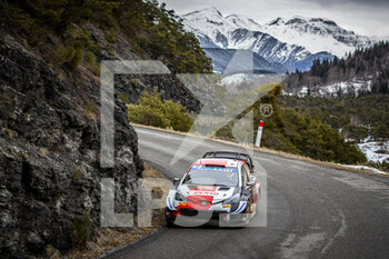 2021 WRC World Rally Car Championship, Monte Carlo - Saturday - RALLY - MOTORI