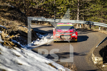 24/01/2021 - 24 Eric CAMILLI (FRA), Francois-Xavier BURESI (FRA), SPORTS & YOU CITROEN C3, RC2 Rally2, action during the 2021 WRC World Rally Car Championship, Monte Carlo rally on January 20 to 24, 2021 at Monaco - Photo Grégory Lenormand / DPPI - 2021 WRC WORLD RALLY CAR CHAMPIONSHIP, MONTE CARLO - SUNDAY - RALLY - MOTORI